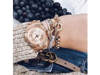 Metalic bracelet - Light gold/ Rose metalllic