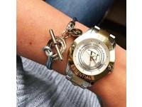 Metallic armband - Champagne goud/ Champagne metallic
