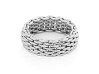 Malien ring 17 - Zilver