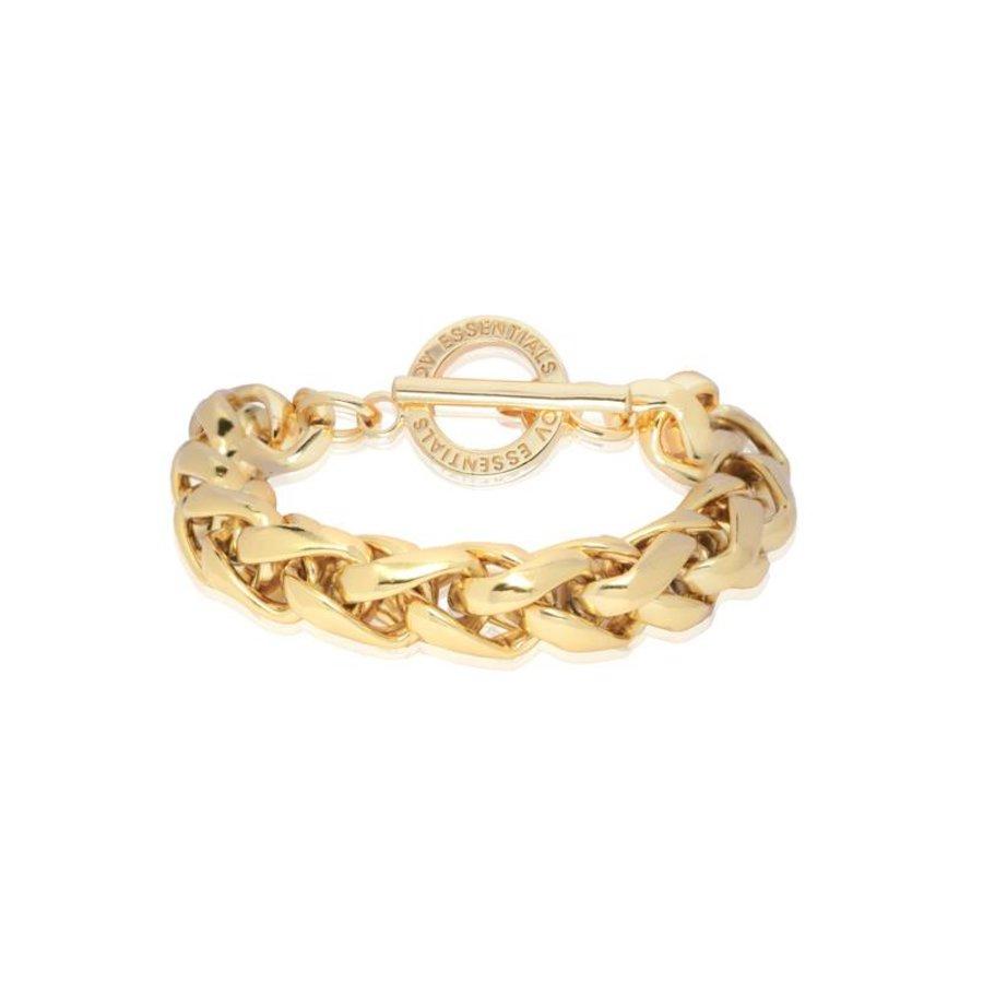 Big spiga bracelet - Gold