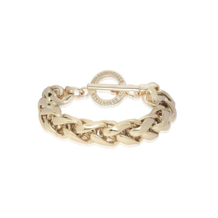 Big Spiga - Armband - Light gold
