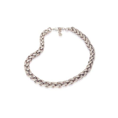 Big spiga necklace - Silver