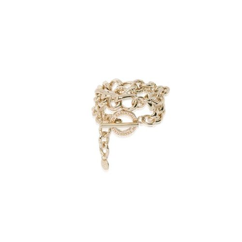 Wrap around gourmet armband - Champagne goud