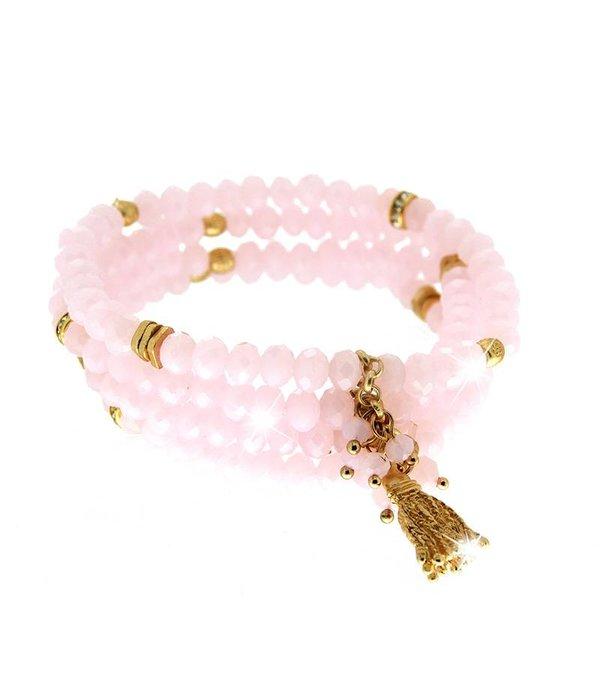 Armband Delia, rosé/gold