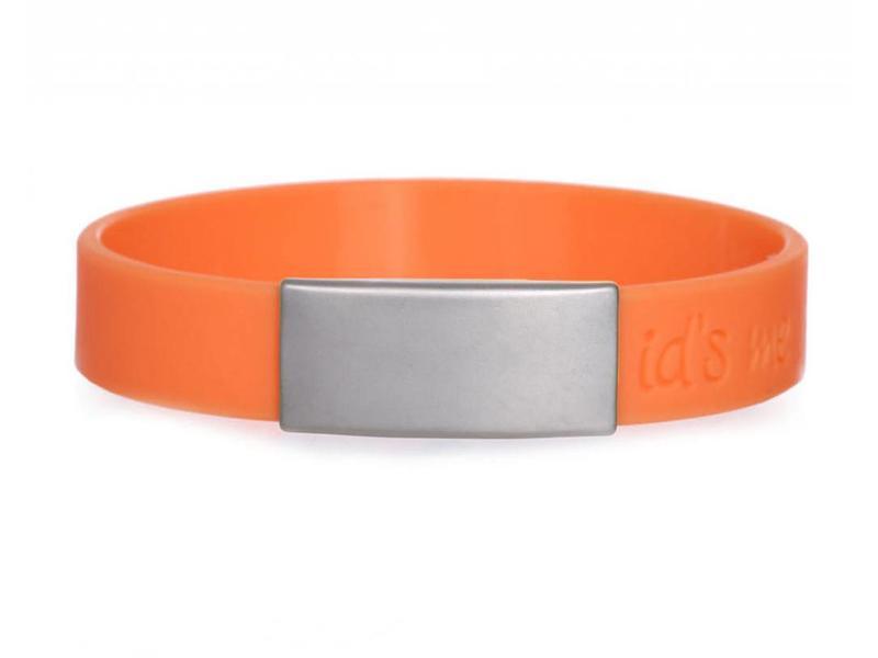 SportID Mini Oranje SOS Armband