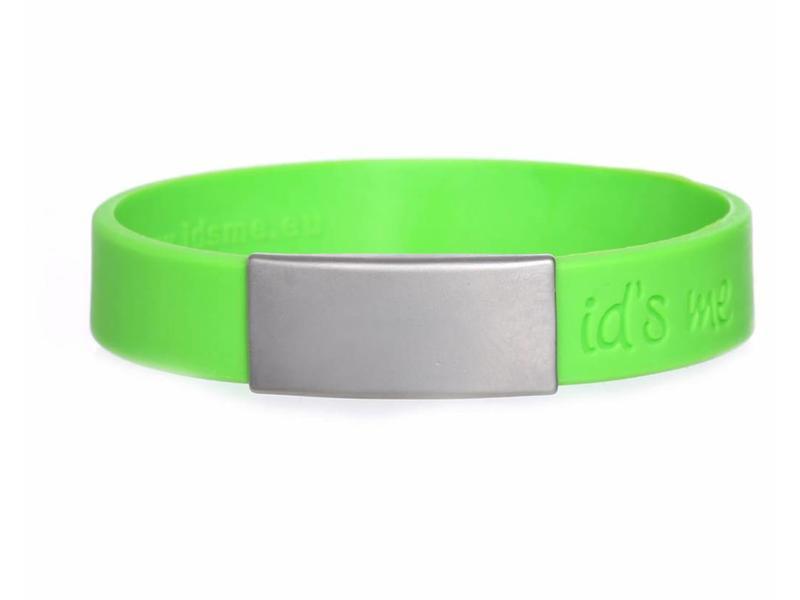 SportID Mini Groen SOS armband
