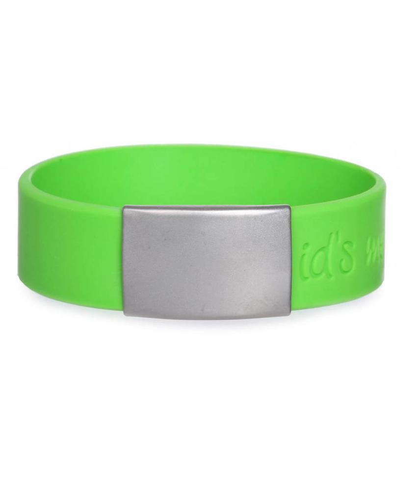 SportID Maxi Groen SOS Armband