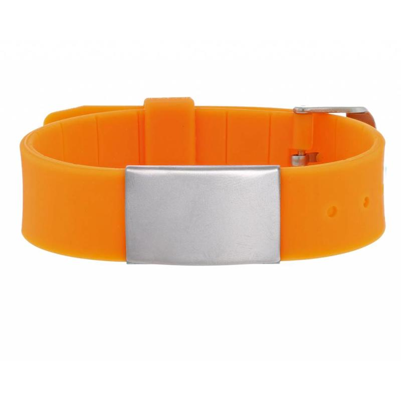 HealthID Oranje SOS Armband