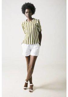 Afriek Golden Stripes Top