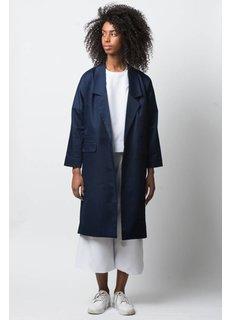 Afriek Navy Long Coat