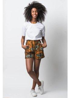 Afriek Orange Bird Shorts