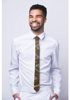 Afriek Zig Zag Skinny Tie