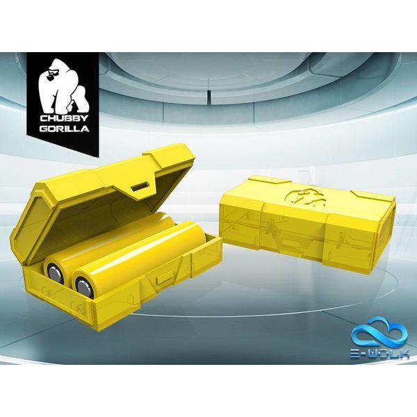 Dual 18650 Battery Case (100pcs)