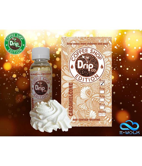 The Drip Co. Coffee Edition Caramel Cone (50ml) Plus by The Drip Co. Coffee Edition