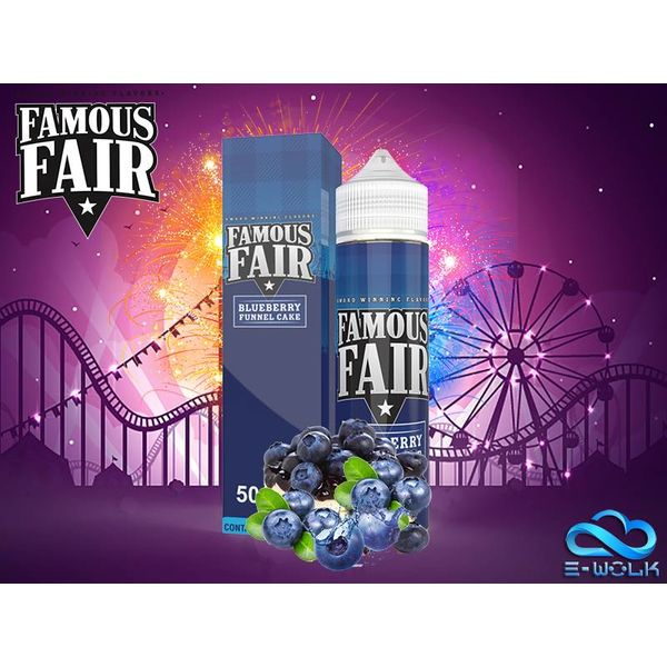 Blueberry Funnel Cake (50ml) Plus