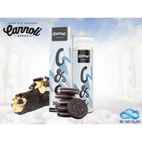Cookies N Cream Cannoli (50ml) Plus