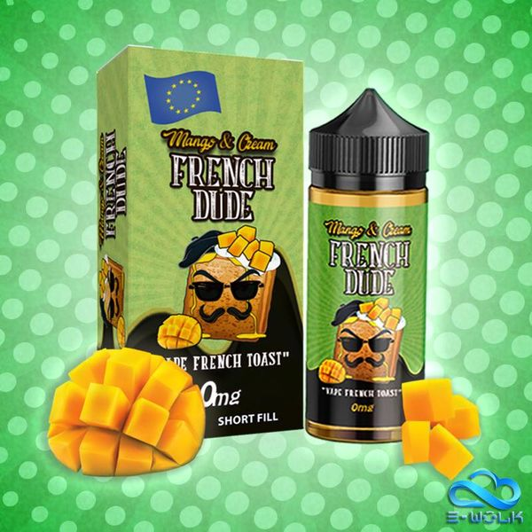French Dude Mango and Cream (100ml) Plus