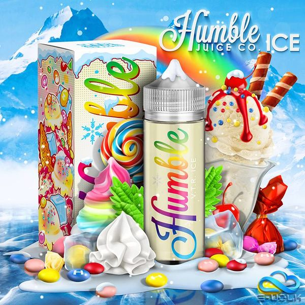 Vape The Rainbow Ice (100ml) Plus