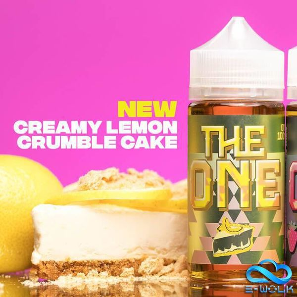 The One Lemon Crumble Cake (100ml) Plus