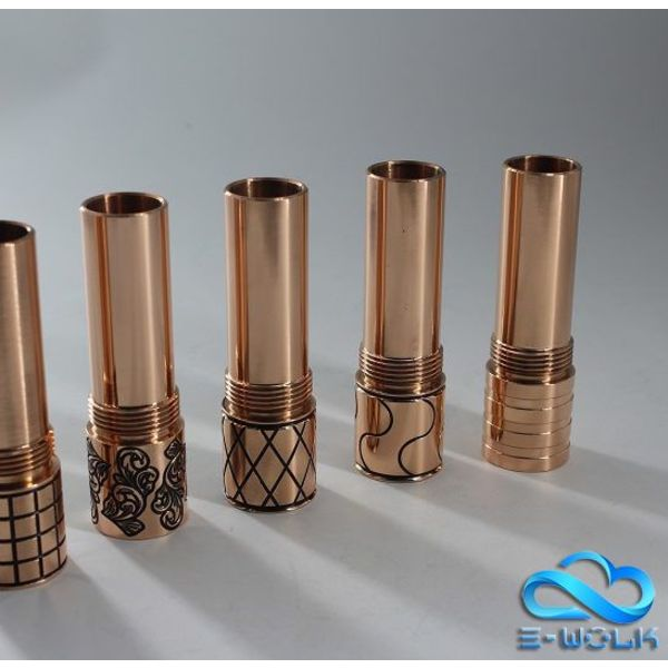 Purge Copper Male Tubes