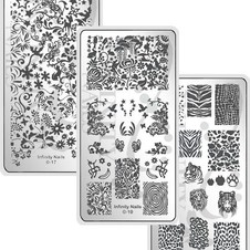 Infinity Nails Image Plates