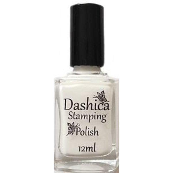 Dashica Stamping Polish - White