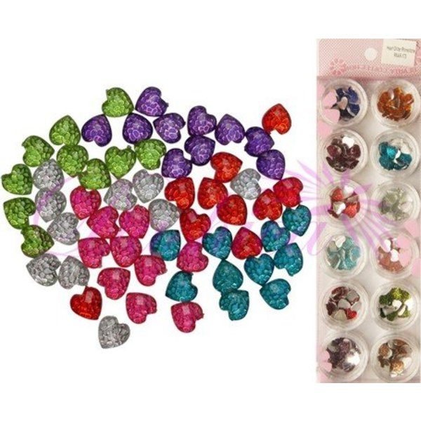 Mixed decoration - RO-Diamond Hearts