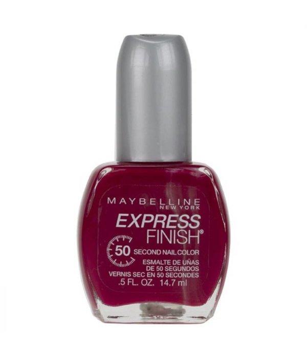 Crimson Nail Polish: Maybelline New York Nail Polish