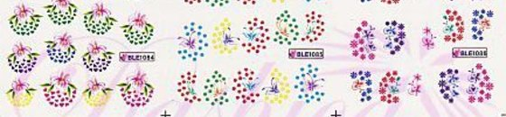 BLE Water Decals Sheets