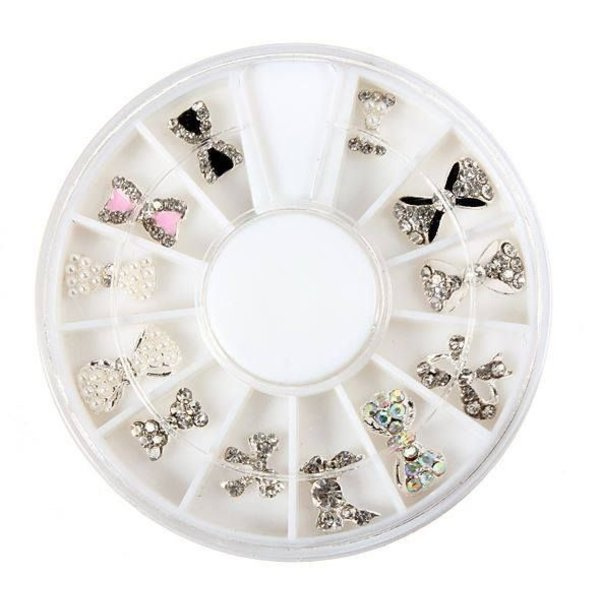 Luxury Nail Decoration Wheel - 12 Species