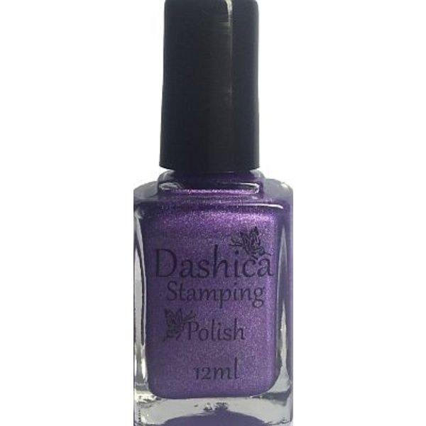 Dashica Stamping Polish - Holographic Purple