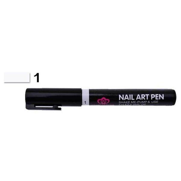 Nail Art Pen - White