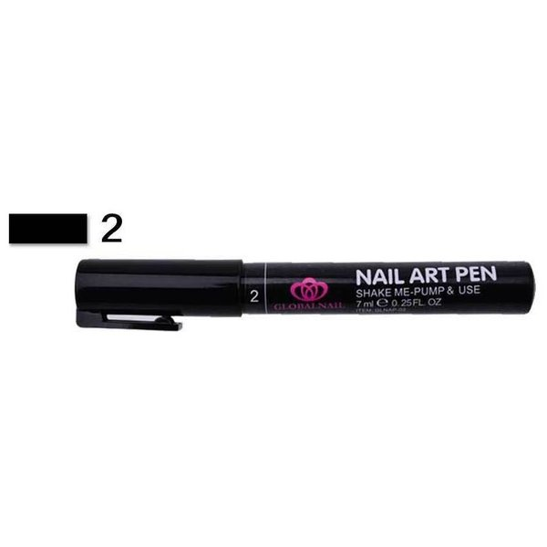 Nail Art Pen - Black