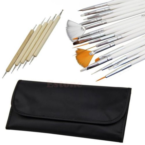 Nail-Art set in pouch