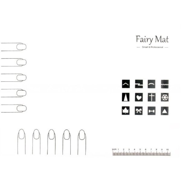 Fairy Mat - Stamping Silicone Mat
