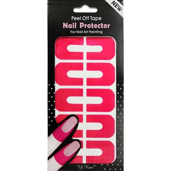 Nail Art Peel Off Protection Tape - Pink