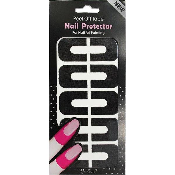 Nail Art Peel Off Protection Tape - Black