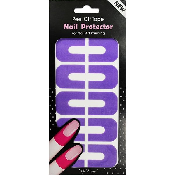 Nail Art Peel Off Protection Tape - Purple
