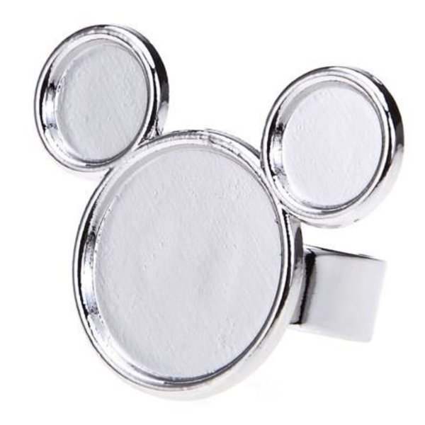 Painting Pallete Ring - Mickey