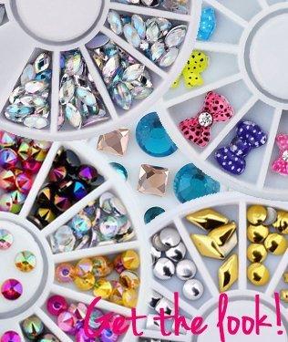 Nail-Art wheels