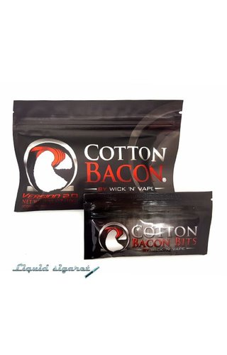 Wick 'n Vape Cotton Bacon
