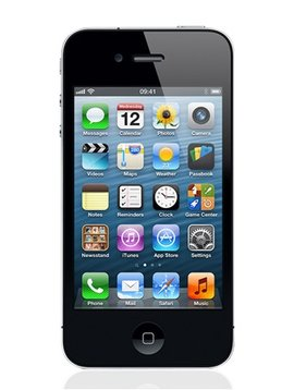 Apple 4S 64GB zwart