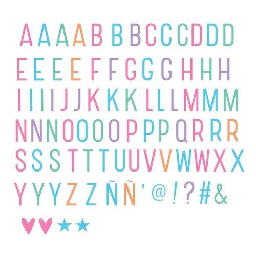 ALLC Lightbox Letter Set: Basis Pastel