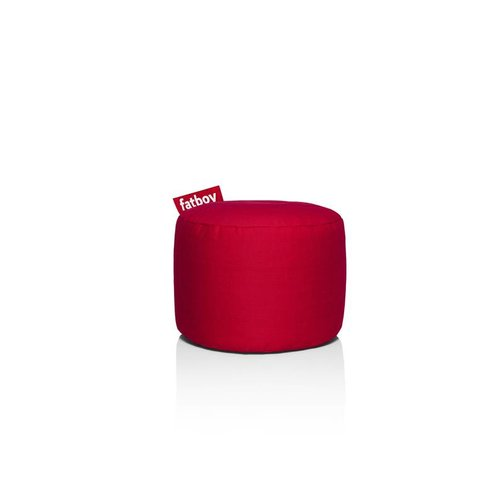 FATBOY Pouf Rond Point Fatboy - Rouge Stonewashed