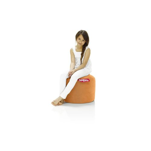 FATBOY Pouf Rond Point Fatboy - Orange Stonewashed