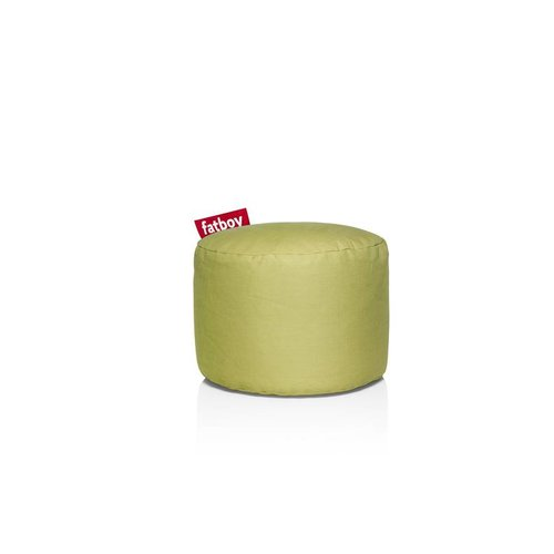 FATBOY Pouf Rond Point Fatboy - Vert lime Stonewashed