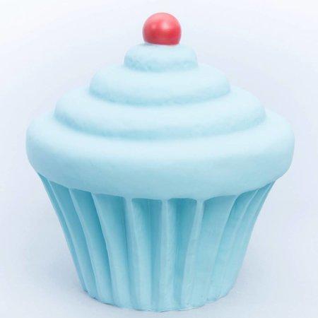 Little Lamp Company Cupcake lamp Pastelblauw