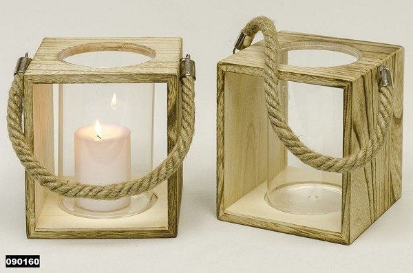 Houten Tekstborden Slaapkamer : lantaarn glas in houten houder - Snel ...