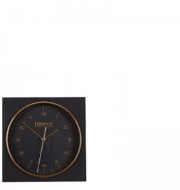 Lifestyle amsterdam table-clock black