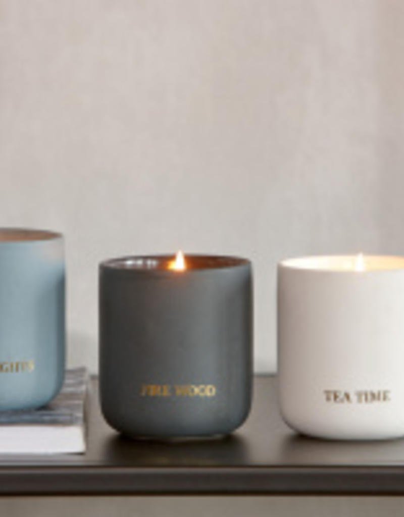 Braxton Cira fragrance candle, fire wood